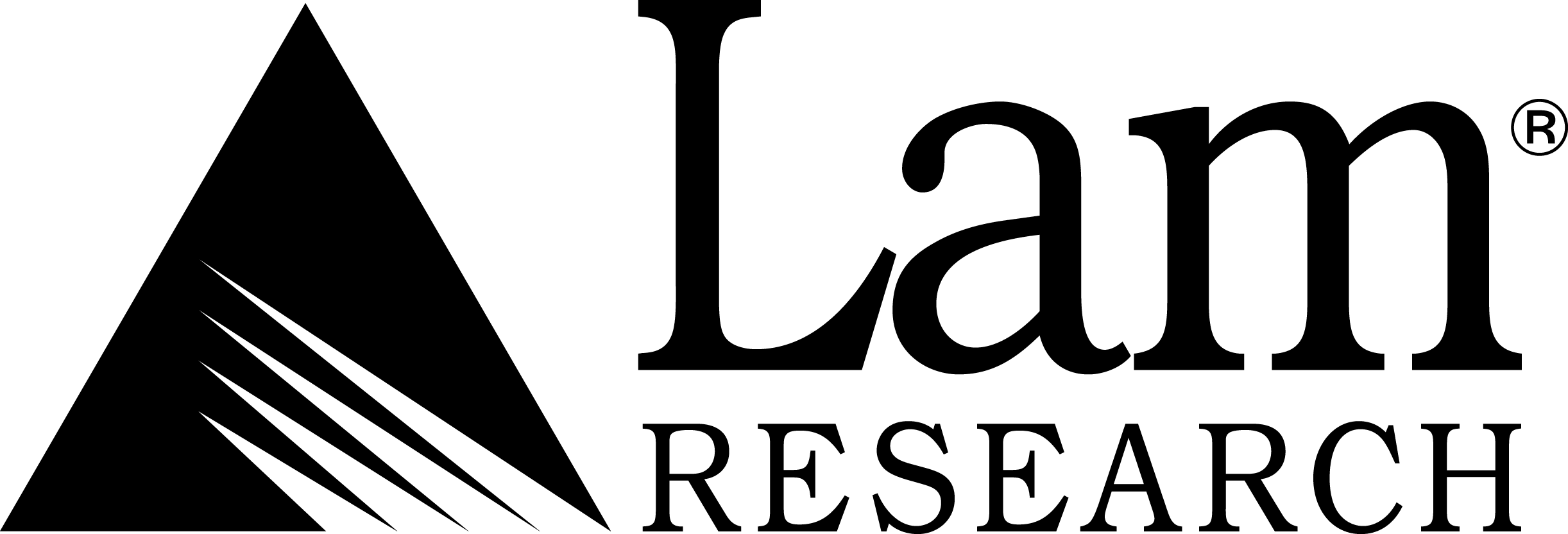 Lam Research logo Black